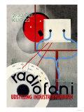 Radiofoni Udstilling Industribygningen Posters