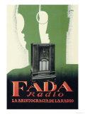 Fada Radio, La Aristocracia de la Radio Láminas por M. Miralles