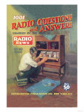 1001 Radio Questions and Answers 高品質プリント