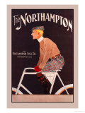 The Northhampton Cycle Print by Edward Penfield