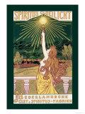 Spirit Incandescent Light Affischer av Jacques Zon