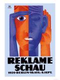 Reklame Schau Art by Fritz Rosen