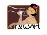 Rajah Coffee Pósters por Henri Meunier