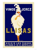 Vinos Jerez Llisas Plakater