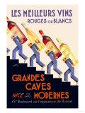 Les Meilleurs Vins Poster