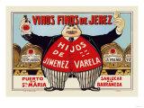 Vinos Finos de Jerex Prints