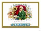 Benjamin Rush Cigars Art