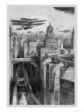 The New York of the Future as Imagined in 1911 Prints by Richard Rummell