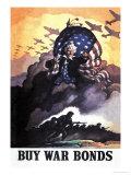 Achetez des titres d'emprunt de guerre Affiches par Newell Convers Wyeth