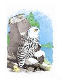 The Snow Owl Posters av Theodore Jasper