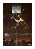 Omega Fly Dunk Poster di Frank Morrison