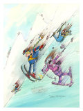 Icy Conditions Giclee Print by Gary Patterson