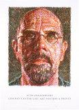 Self Portrait Reproduction pour collectionneur par Chuck Close