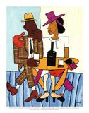 Cafe Pôsters por William H. Johnson