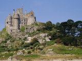 St. Michael's Mount, Castle, Cornwall, England, UK Photographic Print by Ken Gillham