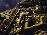 Wat Pra That, Chiang Mai, Chiang Mai Province, Thailand, Asia Reproduction photographique par John Henry Claude Wilson