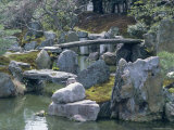 Garden, Nijo Castle, Kyoto, Japan, Asia Photographic Print by Robert Harding