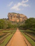 The Rock Fortress of Sigiriya (Lion Rock), Unesco World Heritage Site, Sri Lanka, Asia Photographic Print by Gavin Hellier