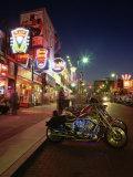 The Famous Beale Street at Night, Memphis, Tennessee, United States of America, North America Valokuvavedos tekijänä Gavin Hellier