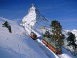 The Matterhorn, Zermatt, Switzerland, Europe Lámina fotográfica por Gavin Hellier