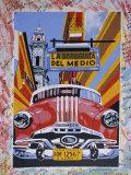 Kubanische Gemälde, Havanna, Kuba, Karibische Inseln, Mittelamerika Fotografie-Druck von Gavin Hellier