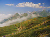 View from Col d'Aubisque, Pyrenees-Atlantique, Pyrenees, Aquitaine, France, Europe Photographic Print by David Hughes