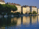 River Saone, Lyon, Rhone Valley, France, Europe Photographic Print by David Hughes