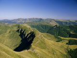 Summer Evening, Cantal, Massif Central, Auvergne, France, Europe Photographic Print by David Hughes