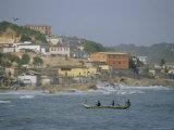 Cape Coast, Ghana, Africa Fotografisk tryk af David Poole
