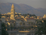 Town Skyline, Split, Croatia, Europe Reproduction photographique par Charles Bowman