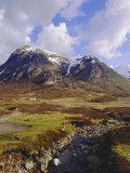 Glencoe (Glen Coe), Highlands Region, Scotland, UK, Europe Reproduction photographique par Charles Bowman