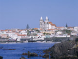 S. Mateus Da Calheta, Terceira, Azores, Portugal Impressão fotográfica por G Richardson