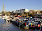 Docks, Bristol, England, UK, Europe Reproduction photographique par Charles Bowman