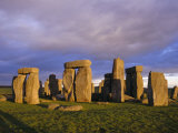 Stonehenge, Wiltshire, England, UK Reproduction photographique par Charles Bowman