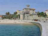 The Beach, Estoril,Costa De Lisboa, Portugal, Europe Reproduction photographique par G Richardson