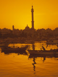 El Mina Mosque and Port, Tripoli, Lebanon, Middle East Reproduction photographique par Charles Bowman