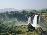 Tis Abay Waterfall, the Blue Nile, Ethiopia, Africa Fotografisk tryk af Julia Bayne