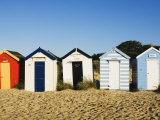 Beach Huts, Southwold, Suffolk, England, United Kingdom, Europe Photographic Print by Amanda Hall