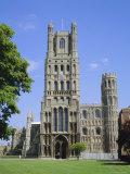 The Cathedral, Ely, Cambridgeshire, England, UK Fotografisk tryk af Roy Rainford