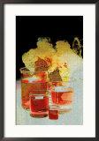 Laboratory Glassware Designs Framed Photographic Print by David M. Dennis