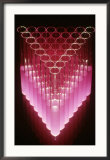 Test Tubes, Design Framed Photographic Print by David M. Dennis