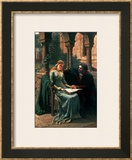Abelard and His Pupil Heloise, 1882 Framed Giclee Print by Edmund Blair Leighton