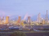 Petrochemcials Plant, Grangemouth, Falkirk, Stirlingshire, Scotland, UK Fotografisk tryk af Roy Rainford