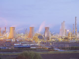 Petrochemcials Plant, Grangemouth, Falkirk, Stirlingshire, Scotland, UK Photographic Print by Roy Rainford