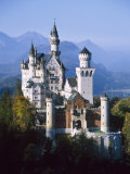 Neuschwanstein Castle, Fussen Bavaria, South Germany Photographic Print by Nigel Francis