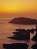 South Stack at Sunset, Anglesey, Gwynedd, North Wales, UK, Europe Photographic Print by Roy Rainford