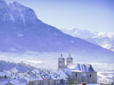 Briancon, Hautes Alpes, Provence, France, Europe Photographic Print by John Miller