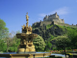 Edinburgh Castle, Edinburgh, Lothian, Scotland, UK, Europe Photographic Print by Roy Rainford