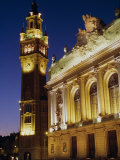 Opera and Chamber of Commerce, Lille, Nord, France, Europe Photographic Print by John Miller