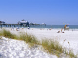 Clearwater Beach, Florida, USA Reproduction photographique par Fraser Hall